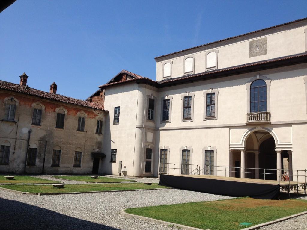 La parte comunale del Castello