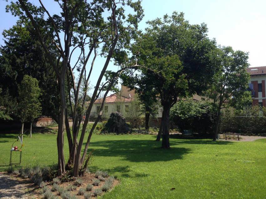 Il giardino di Villa Crespi