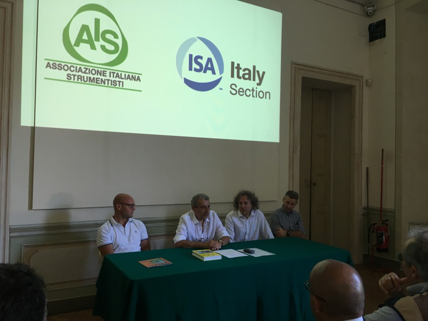 Con Ugo Baggi, presidente ISA ITALY SECTION